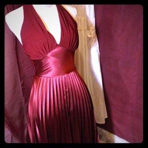 Burgandy. Dress